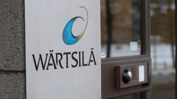 Wärtsilä ovi Helsinki pääkonttori kuvituskuva