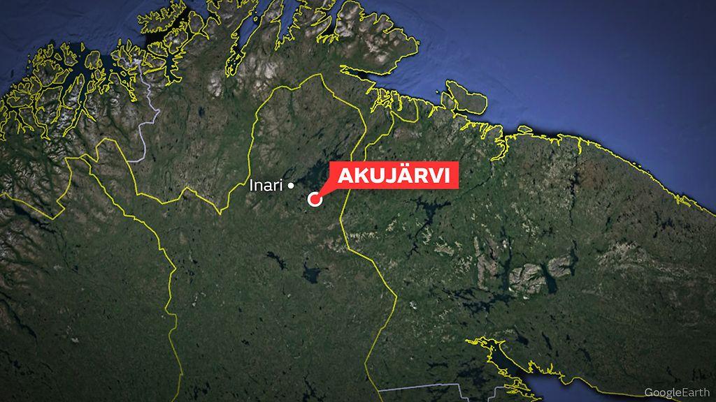 Poliisilla Aavistus Kaksi Henkea Vaatineen Inarin Tuhoisan