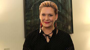 Heidi Sohlberg DCA-gaalassa 26.10.2019
