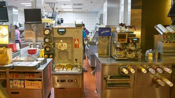 mcdonald's, jäätelökone