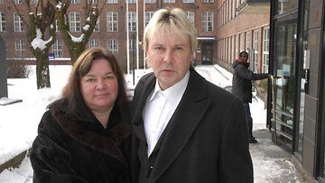 Mervi Tapola Matti Nykänen (2)