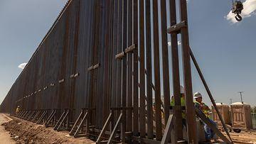 aop Trumpin muuri, raja-aita meksiko