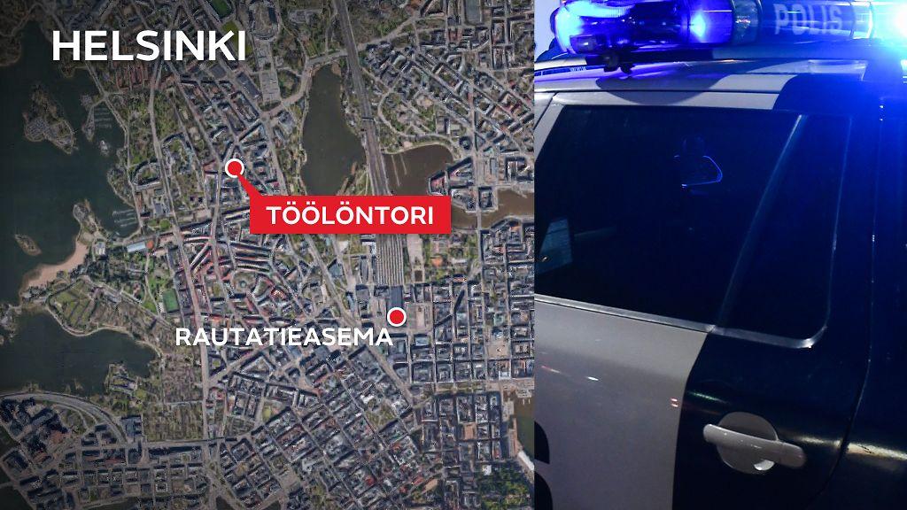 Poliisiauto Liikenneturmassa Helsingissa Oli Matkalla Kiireiselle
