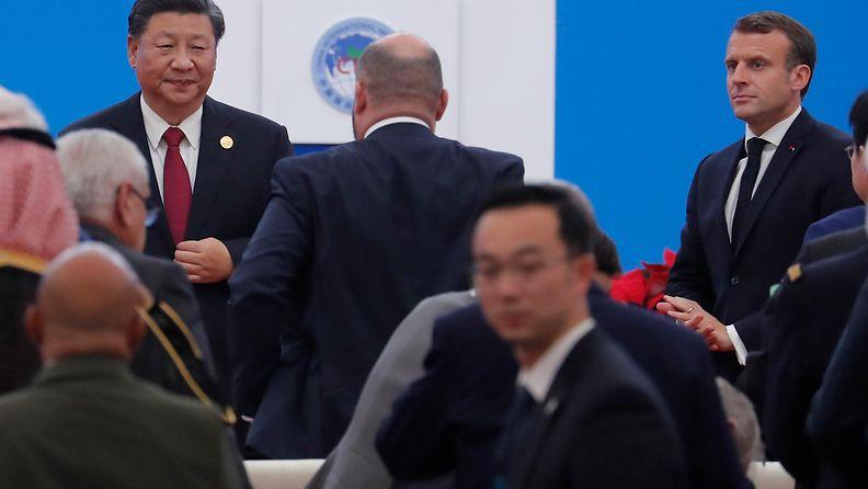 Macron ja Xi Jingping