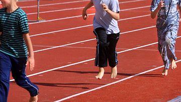 AOP, koululiikunta, liikunta, juoksu, urheilu, lapset
