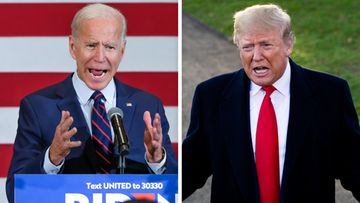 Joe Biden ja Donald Trump 2019