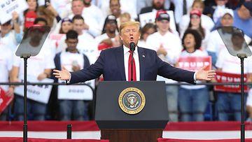 Donald Trump vaalitilaisuudessa Kentucky 4.11.2019
