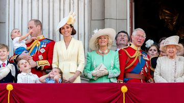 kuninkaallinen perhe Trooping the Colour 2019
