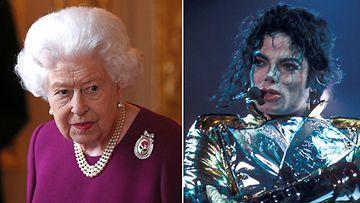 kuningatar Elisabet ja Michael Jackson