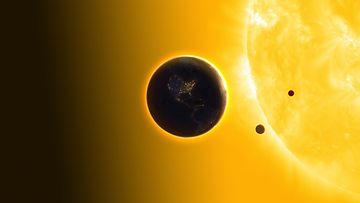Merkurius ja aurinko AOP