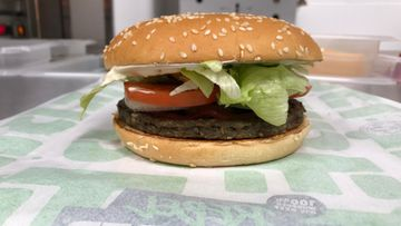 Burger King Rebel Whopper 1 hampurilainen
