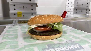 Burger King Rebel Whopper 2 hampurilainen