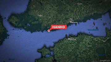 Hanko Kartta