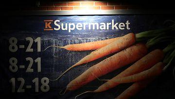 K-supermarket AOP kuvitus