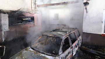 Vantaankosken koulu paloi