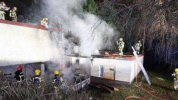Vantaankosken koulu paloi 2