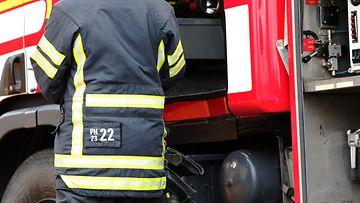 AOP tulipalo, pelastuslaitos, palomies