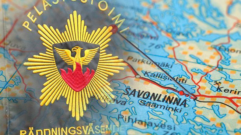 pelastuslaitos Savonlinna, tulipalo AOP