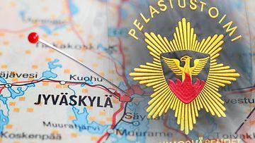 pelastuslaitos Jyväskylä, tulipalo AOP