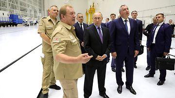 Putin avaruuskeskuksessa Venäjän kaukoidässä