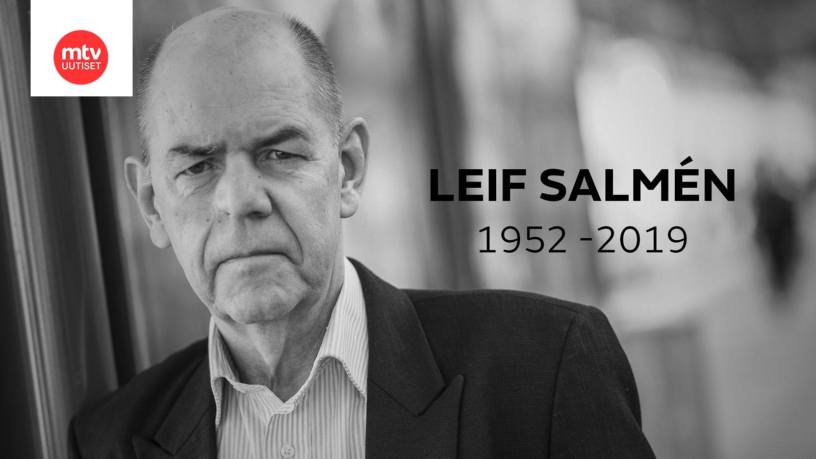 Leif Salmen Alkoholi
