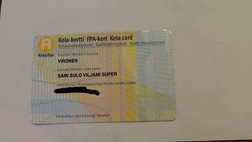 Sami Vironen Kela-kortti Super