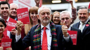 Britannia työväenpuolue vaaliohjelma julkistus Birmingham 21.11.2019 1 Jeremy Corbyn