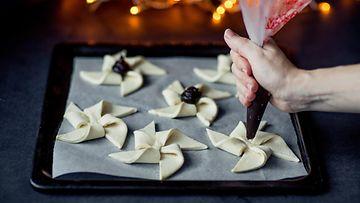 joulutorttu leipominen