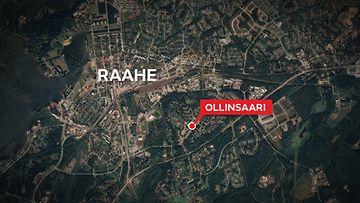 Raahe-ollinsaari-kartta