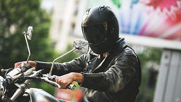 moottoripyörä moottoripyöräilijä motoristi