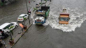 aop Intia tulvat, monsuuni