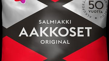 Cloetta Aakkoset Original Salmiakki 2020