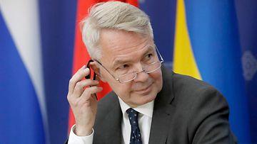 Pekka Haavisto Minsk 25.11.2019