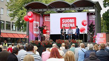 Yleisö SuomiAreena