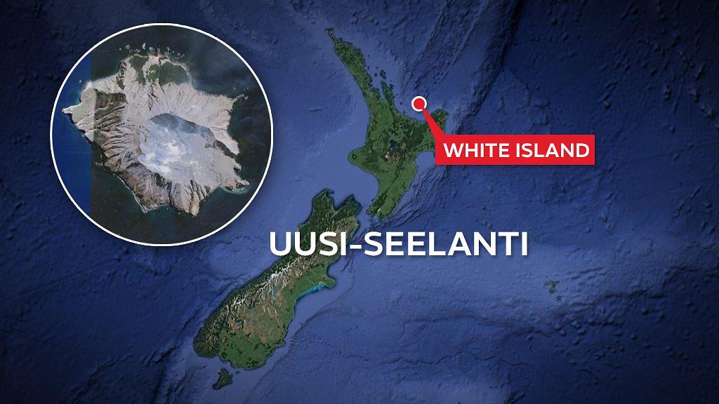 Uuden Seelannin Tulivuorenpurkauksen Lukuisista Kuolonuhreista