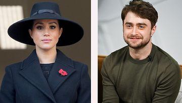 Herttuatar Meghan ja Daniel Radcliffe