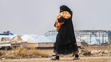 LK al-Hol, isis-lapset, pakolaisleiri