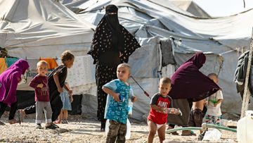 LK al-hol leiri, isis-lapset