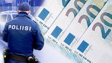 poliisi-raha-seteli-kuvitus