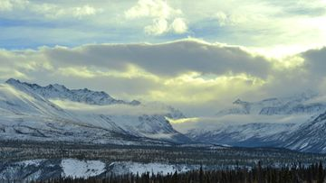 AOP alaska, vuoristo, talvi