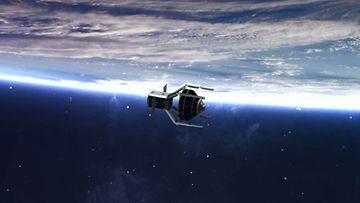 ClearSpace -avaruusromun kerääjä. Kuva: Clearspace