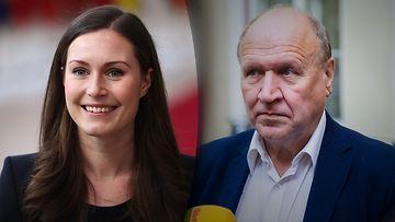Sanna Marin ja Mart Helme Viron sisäministeri Live