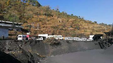 Kaivosonnettomuus Kiinassa