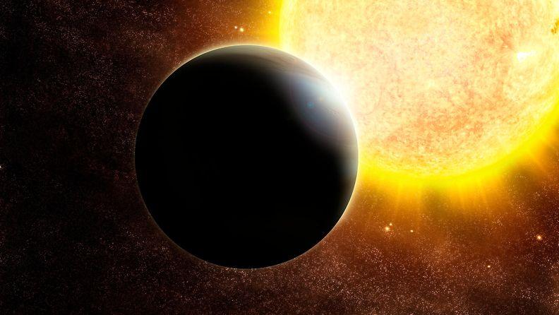 NASA eksoplaneetta artistikuva