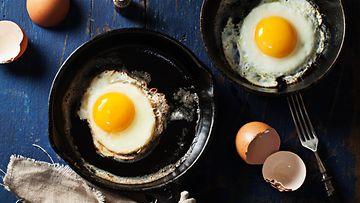 paistetut kananmunat