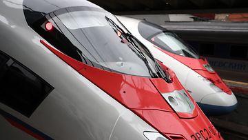 Venäjä juna kuvitus AOP
