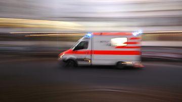 ambulanssi kuvituskuva