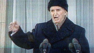 Romanian diktaattori Nicolae Ceausescu