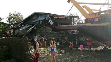 epa Filippiinit taifuuni Phanfone