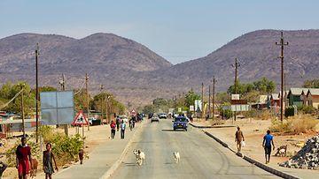 Tie namibia AOP